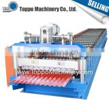 Assured quality wholesale building material roofing sheet steel corrugated sheet machine