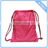 Polyester back pack hiking backpacks,gym bag for travel