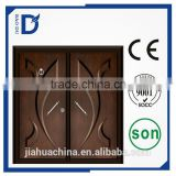 steel armored wooden double door designs garage door panels sale