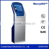 Banking POS Terminal 15/ 17/ 19/ 22 inch Touch Screen Advertising Self Service Mall Kiosk
