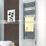 HB-R8104C-A electric element heated steel ladder towel racks/towel warmer/thermostat towe rails/towel radiator