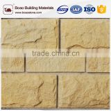 Beautiful textured artificial stone natural stone look