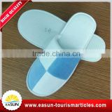 Favorable price 100% cotton disposable terry towelling luxury hotel slipper