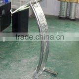 metal lectern , model lectern , curved lectern ,acrylic lectern , compact truss , podium , metal podium