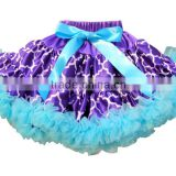 Beautiful fashion baby girls mini tutu skirt with girl party wear western dressmade in China