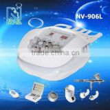 new products 2016 innovative product nv906l 6IN1 micro dermabrasion machine with photon&skin scrubber