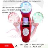 Zhengzhou Gree Well Ultrasonic+Galvanic+Photon+Vibration Facial Massager Sonic Face Cleaning LED Beauty Skin Care