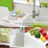 Drainer Board Companion Dishes Sink Drain And Plastic Filter Plate Storage Kitchen Drain Board