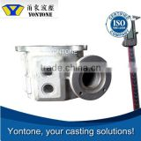 Yontone YT914 Easy Communication ISO9001 Factory Accurate AlSi9Cu3 T6 Heat Treatment Green Sand Aluminum Metal Mold Casting