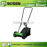 "12"" Hand Push Cylinder Lawn Mower with 300mm Blade"