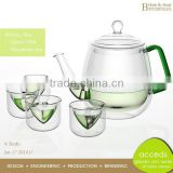 Handcrafted Glass Odd-Shaped Innovations Decorative Microwave Teapot