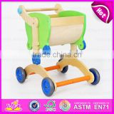 2016 new design Wooden baby walker toy,High Quality wooden baby educational walker toy, 3 IN 1 wooden walker toy W16A016