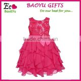 20150 Summer Clothes Baby Gilrs Sequins Princess Dress Girls Party Dress Sleeveless Kids Clothes Wholesale