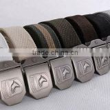 Army Belt Military mens colorful metal belts for man