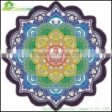 China Yoga Mat Picnic Mat mandala round roundie oversized beach towel in china custom round towel