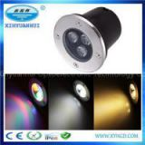 CE Rohs IP67 RGB LED Ground Lights And Underground Lights For Public Square