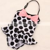 2017 Children Swimsuit Kids Han Edition Cute Girl Baby Connection Dress Infant Bathing Suit Dance Dress