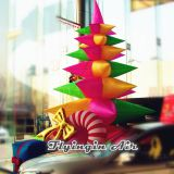2m Height Inflatable Christmas Tree for Home and Shop Decoration