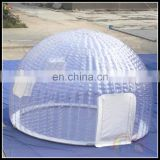 China Suppliers Outdoor Transparent Inflatable Circle Tent Inflatable Dome Marquee Tents Igloo Tent For Sale