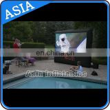 inflatable water floating screen board for water amusement, Water diving in screen