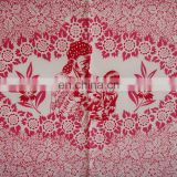 Classic designs of T/C or Polyester pigment printed khanga