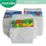 PE Film Baby Diaper with Adl Layer Fluff Pulp Origin USA