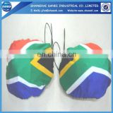 promotional advertising flag car mirror cover