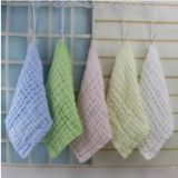 6 layer cotton gauze hand towel for baby face towel 30x30cm