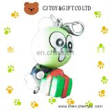 3cm PVC 3D Cartoon Figure Keychain