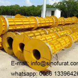 Automatic prestressed concrete pole machine