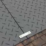 impact resisting UHMW-PE ground protection mat