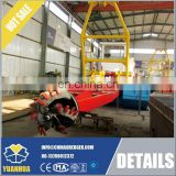 10 inch Mining Machine Dismountable Sand Mining Machine Dredge For Sale