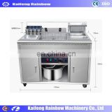 Popular Profession Widely Used  Deep Fryer Electric Gas / Fish Frying Machine / KFC Fried Chicken Machine