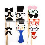 2016 newest design colorful Kids Party Photo Booth Props                                                                         Quality Choice