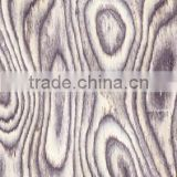 hot sale 0.5mm 1mm engineered light grey burl wood face veneer/white brick veneer for decorative furniture door flooring