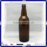 wholesale cheap amber glass beer bottle