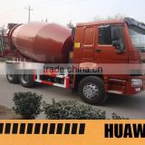 Euro 2 Emission Standard and New Condition concrete mixer truck