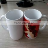Hot sale blank sublimation mugs for heat tranfer,11oz white blank sublimation coated mug