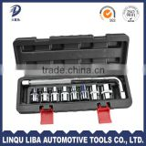 9 pcs chrome vanadium small socket set wholesale tool boxes