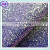 2015 new arrival PU glitter Fabric Leather