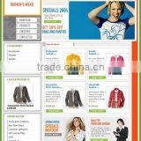 Perfect Clothes Ecommerce Website Design Service,Web designer,e-commerce development,website developers