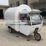 Mobile Kitchen color Plate*Glass fiber reinforced plastics electric truck food trailer SL-9