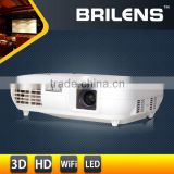 China products OEM 3LCD 3LED 5000lumens 1080p full hd short throw projector mini/logo projector for htc one