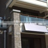 solar water heating system collector for home, measures 2000*1000*80mm FP-GV2.0