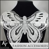 2012 Hot Selling Cotton Trimming Lace/Kavatar Fancy Nylon Lace Butterfly Patch