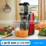 Low-speed Auger-compression types of juicers with high efficiency retain the nutrition of the fruits