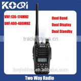 High quality KQ-UVB6 2 way radio walkie talkie