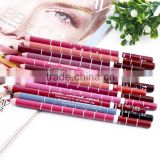 Professional Lipliner pencil Waterproof wooden blend Lip Liner Pencil 15CM 23 Colors Per Set Hot 2016 makeup lipstick tool