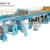Automtic Single Facer Corrugated Cardboard Production Line/2 Ply Corrugated Carton Board Making Machine