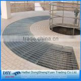 PVC Coated or Hot Dipped Galvanized Platform Floor Steel Grating of the bset price and quality